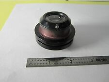 MICROSCOPE PART ZEISS CONDENSER  OPTICS AS IS [missing lever for IRIS BIN#C9-01