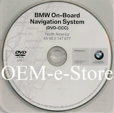2006 2007 2008 BMW 650i Coupe Navigation DVD Map US Canada Version 2009.1 Update