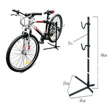 Bike Stand Cycling Maintenance Work Repair Floor Storage Display Rack Tool