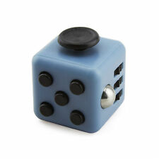 Hot Deep Grey Fidget Cube Dice Anti-anxiety Adults Stress Relief 6 side desk Toy