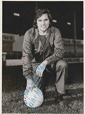 GEORGE BEST MANCHESTER UNITED & NORTHERN IRELAND Legend original autograph +card