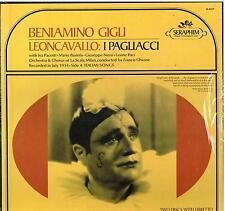 Leoncavallo: Pagliacci / Ghione, Gigli, Nessi, Paci - LP Seraphim