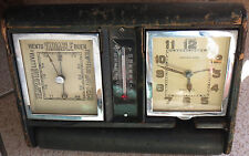 LeCoultre 8 Days Alarm Clock Barometer & termometer running condition
