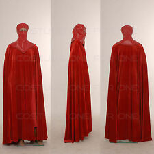 Star Wars Costume Men Full Set Red Vintage Royal Guard CosplayTailored