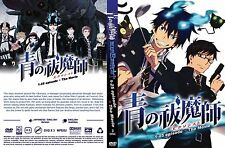 DVD -BLUE EXORCIST (CHAPTER 1-25 END + THE MOVIE) ENGLISH VERSION & SUBTITLE