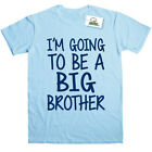 I'M GOING TO BE A BIG BROTHER KIDS PRINTED T-SHIRT
