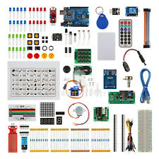 L.T Full Size UNO R3 Starter Kit for Arduino 1602LCD RFID Servo Relay Adapter