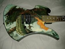 "BC RICH® MOCKINGBIRD® ""Fire Breather"" Graphic Circa January 2003"