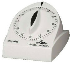 Lux Minder, White Long Ring Cooking Timer. CP1929-14