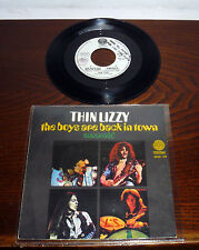 "THIN LIZZY  THE BOYS ARE BACK IN TOWN 7"" ITALY PS '76 EMERALD VERTIGO 6059 139"