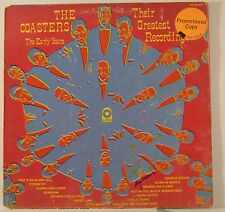 the coasters lp their greatest recordings    WL PROMO sd 33-371  vg+/vg++