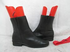 Naturalizer Black Leather Zip Ankle Fashion Boots Size 7.5 M Style 890N81