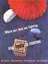 PROPAGANDA WAR PARATROOPER FOOD DESIGN ART POSTER PRINT PICTURE LV7092