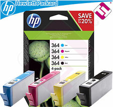 PACK INCHIOSTRO HP 364 STAMPANTE PHOTOSMART 7520 CARTUCCIA COMBO MULTIPACK
