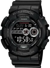 Casio G-Shock GD100-1B BRAND NEW Mens X-Large Military Black Digital Dial Watch