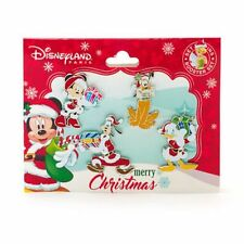 DISNEY Pin Booster Set: WEIHNACHTEN 2016, DONALD, MICKY, PLUTO, GOOFY Paris, RAR