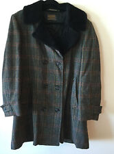 Vtg Men's Pendleton Sir Pendleton Insulated Wool Double Breasted Coat M