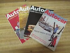 Autocar December 1966 4 Editions Complete Month English Weekly Automobile