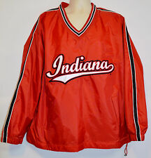 Steve & Barry's INDIANA University Hoosiers Nylon Stitched Pullover Jacket (L)