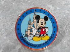 DISNEY DLRP LANDS SERIES PIN MICKEY MOUSE WITH SLEEPING BEAUTY CASTLE