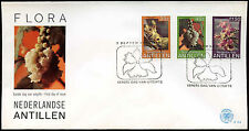 Netherlands Antilles 1979 Flowers FDC First Day Cover #C26696