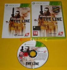 SPEC OPS THE LINE XBOX 360 Versione Ufficiale Italiana 1ª Edizione »»»» COMPLETO