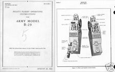 B-29 Superfortress WW2 manual archives RARE 1940's WWII historic period details