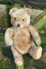 LARGE VERY OLD ANTIQUE GERMAN STEIFF TEDDY BEAR 1950'S
