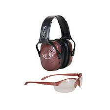 Howard Leight R-01727 Woman's Shooting Muff & Glasses Combo Kit