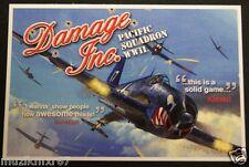 SDCC Comic Con 2012 Handout DAMAGE INC.  Video Game Postcard