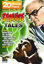 Strange Tales - 20 Movie Pack (DVD, 2006, 4-Disc Set) NEW! Vintage Horror