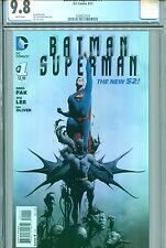 BATMAN SUPERMAN #1 CGC 9.8 THE NEW 52 DC COMICS 2013