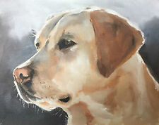 Oil Painting Portrait of Your Pet 8 x 10 inches by J. Coates Professional Artist