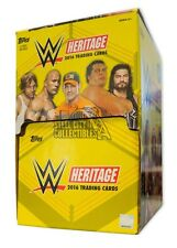 2016 Topps WWE Heritage Wrestling 60ct Gravity Feed Box