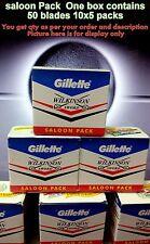 100 pc paquete berlina GILLETTE WILKINSON SWORD hojas de afeitar ENVÍO GRATIS