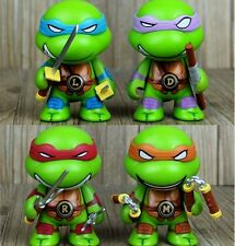 4Pcs Cute Teenage Mutant Ninja Turtles TMNT Action Figure Toy Classic Collection
