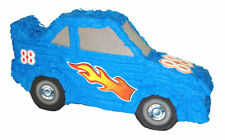 BLUE RACE CAR PINATA compleanno o party game / Decorazione