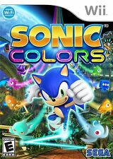 SONIC COLORS  (Wii, 2010) (0426)  **********FREE SHIPPING USA**********