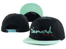 Hot Fashion Diamond SUPPLY CO Snapback style Baseball Hip-Hop Cool CAP HAT Black