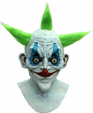 BRAND NEW Insane Grandpa Circus Freak DELUXE ADULT LATEX OLD CLOWN MONSTER MASK