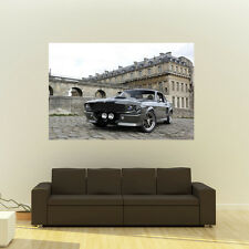 Poster of Ford GT500 Eleanor Mustang Giant Huge 54x36 Inch Print 137x91 cm