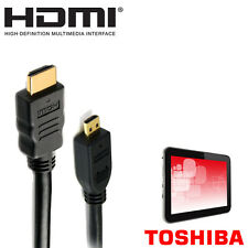 Toshiba Excite Write, Pro, Pure, WT-310-10C/6/8/U Tablet Micro HDMI TV 2m Cable