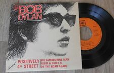 FRENCH EP  Positively 4th Street  Bob Dylan :