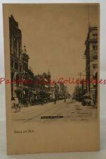Antique Postcard Main Street Dallas Texas TX PC