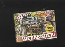 NEW:Australian 4WD Action DVD No 220 Our Toughest Weekender - Watagans NSW
