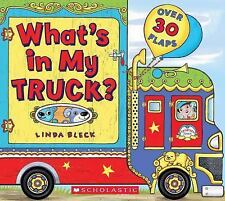 What's in My Truck? by Linda Bleck (2014, Board Book)