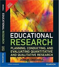 Educational Research : Planning, Conducting, and Evaluating Quantita. *Intl Ed*
