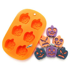 Pumpkin Silicone Baking Mold Halloween Cake Fondant Molds Chocolate Candy Soap