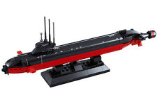 NUCLEAR SUBMARINE Bricks Army Military Land Forces Vehicle Seat Navy Boat