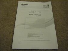 Samsung LED TV User Manual Series 5 5500